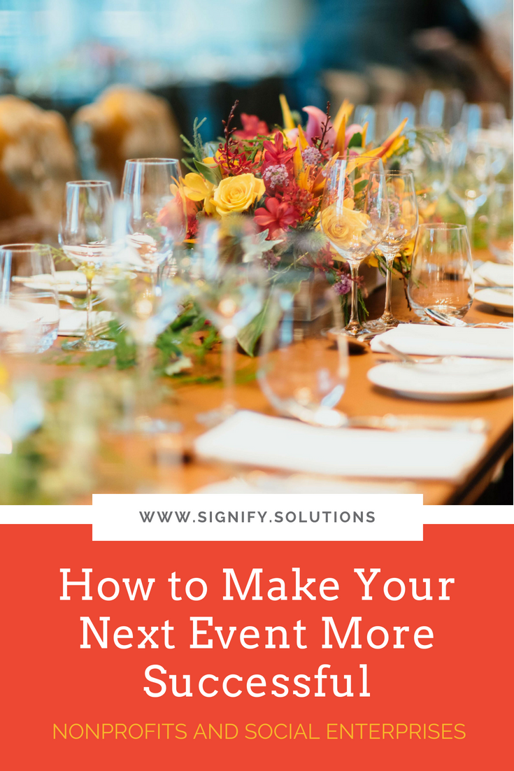 After working on so many  events  over the years, both large and small, I believe there is a key factor we implemented during the event planning process that changed everything.So, if you're looking for event planning tips, this one's a doozy! Here's how to make your next event more successful than your last. (Hint: It's probably not what you think.)