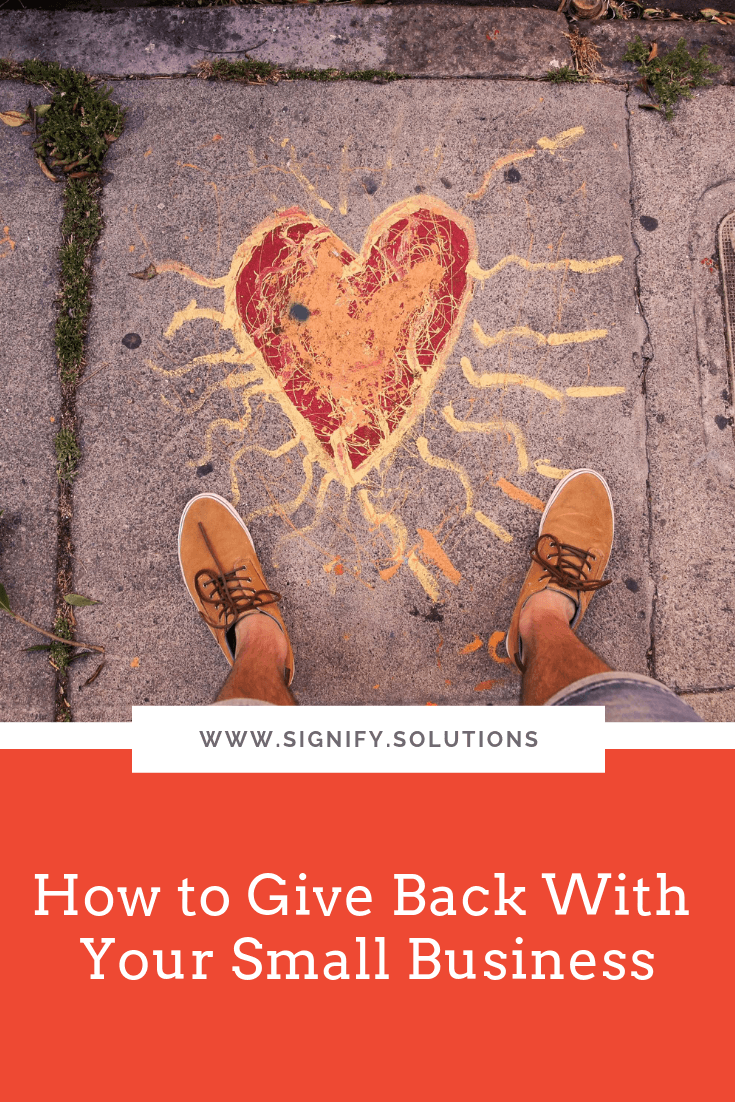 For my fellow entrepreneurs, startups, and small businesses, I'm proof that being charitable doesn't have to be hard. And it doesn't have to cost you a lot of time or money. But I promise, to those you end up helping, it will be extremely valuable!