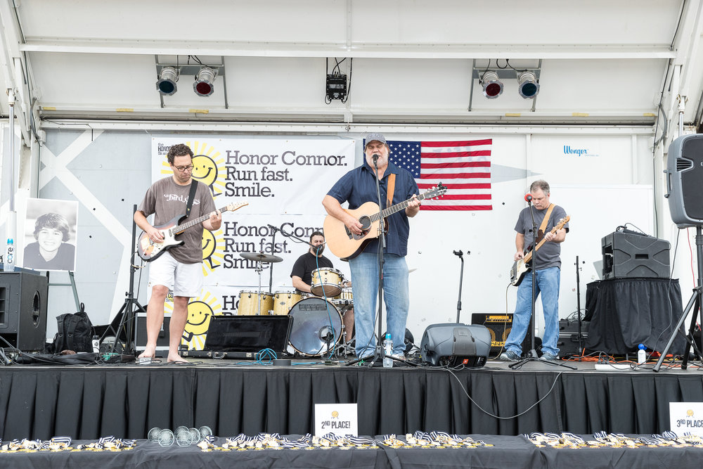 George Dunham & The Bird Dogs perform live at the 5th Annual Honor Connor 5k & Smile Mile.