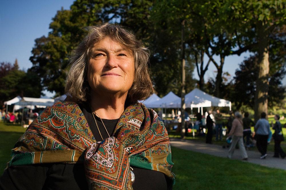 Elizabeth Harris.  Brickworks and Riverdale Farm Farmers Markets