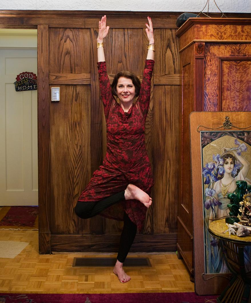Helen Goldstein.  Yogini