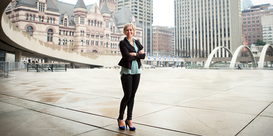 Jennifer Keesmaat.  Chief Planner, City of Toronto