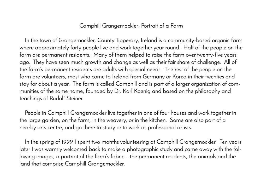 Camphill Intro