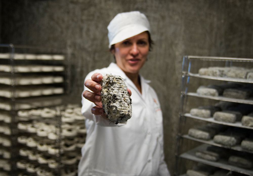Petra Cooper.  Founder, Fifth Town Artisan Cheese Co.