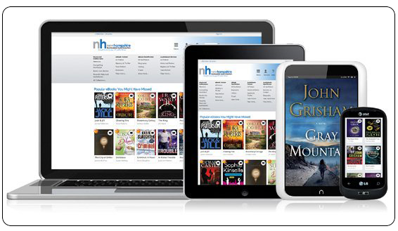 Overdrive gives you access to thousands of ebooks and audiobooks right from home!