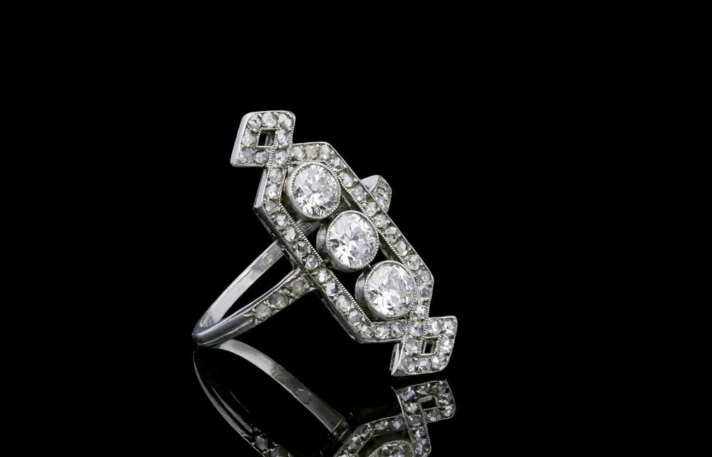 A French Edwardian ring set | £6250