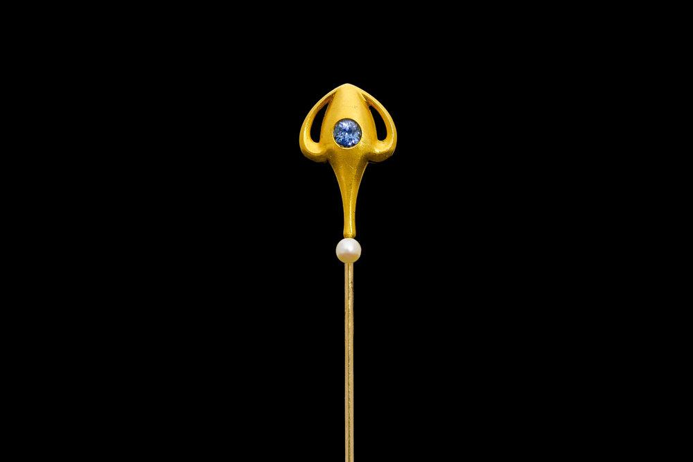 A Danish 'Jugendstil' Art Nouveau pin | £1750