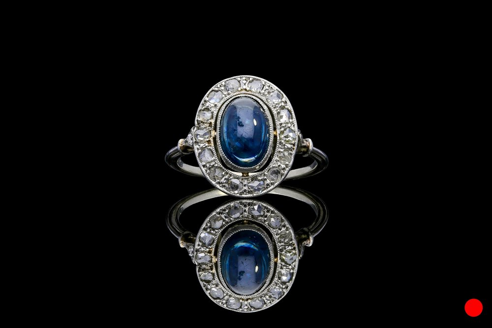 An Arts and Crafts ring set   £3850