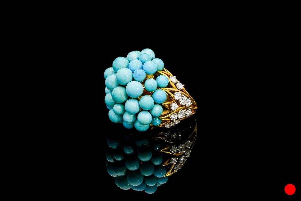 An Andre Vassort 1950's dress ring | £8460