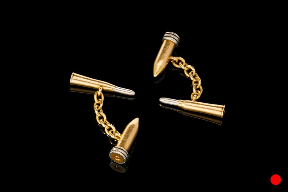 A 1930's bullet cufflinks | £1575