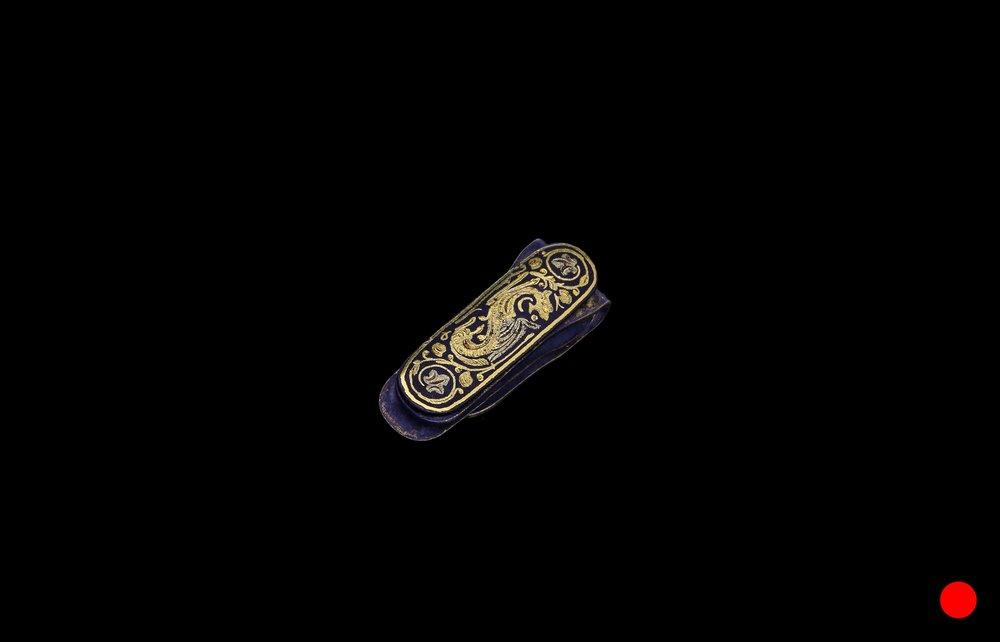 A 1870's American wild west money clip