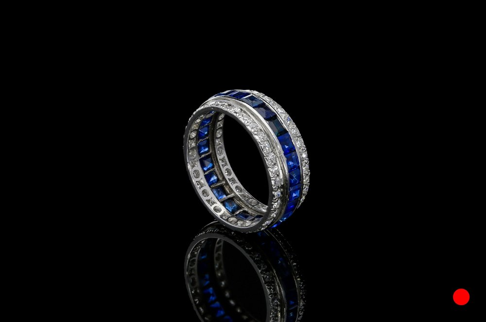 A 1950's eternity ring   £4250