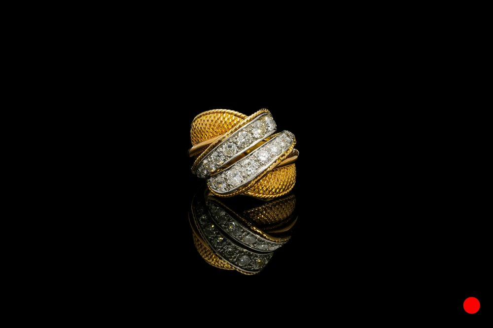 A Sterlé Paris twist ring   £6660