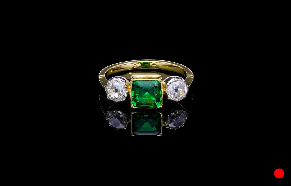 A turn of the century Arts and Craft ring   £19000