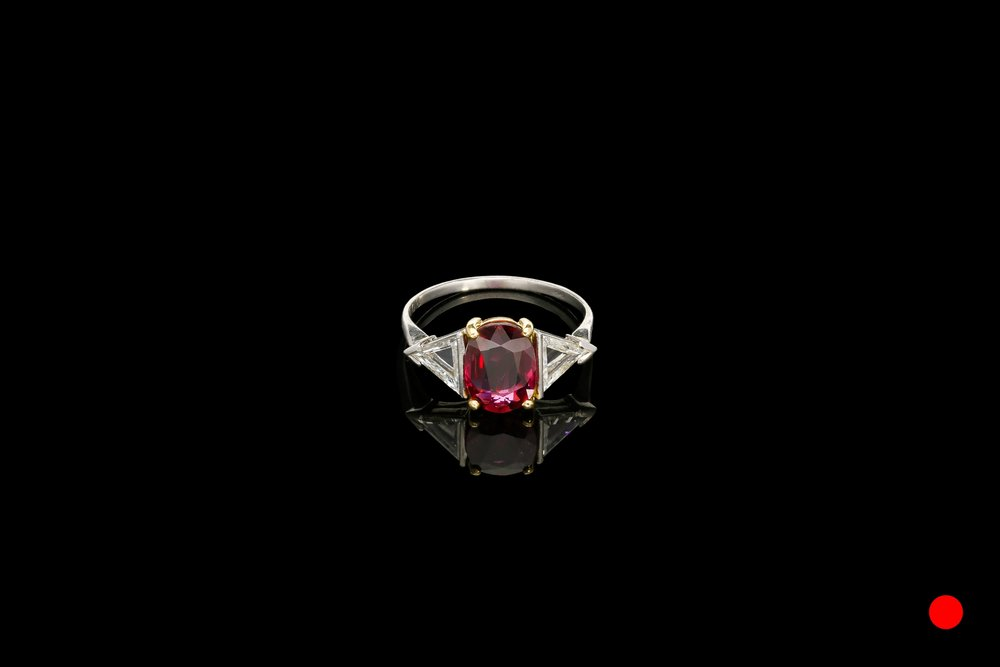 A French Art Deco cocktail ring   £16750