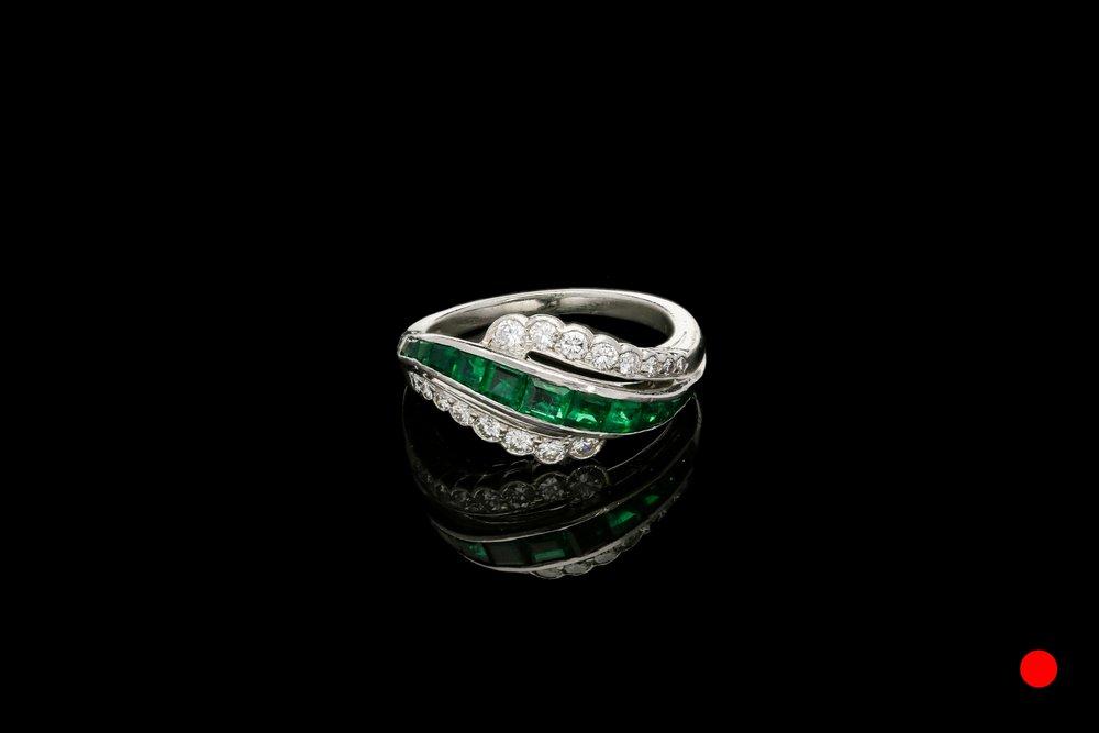 A 1940's Oscar Heyman dress ring   £4950