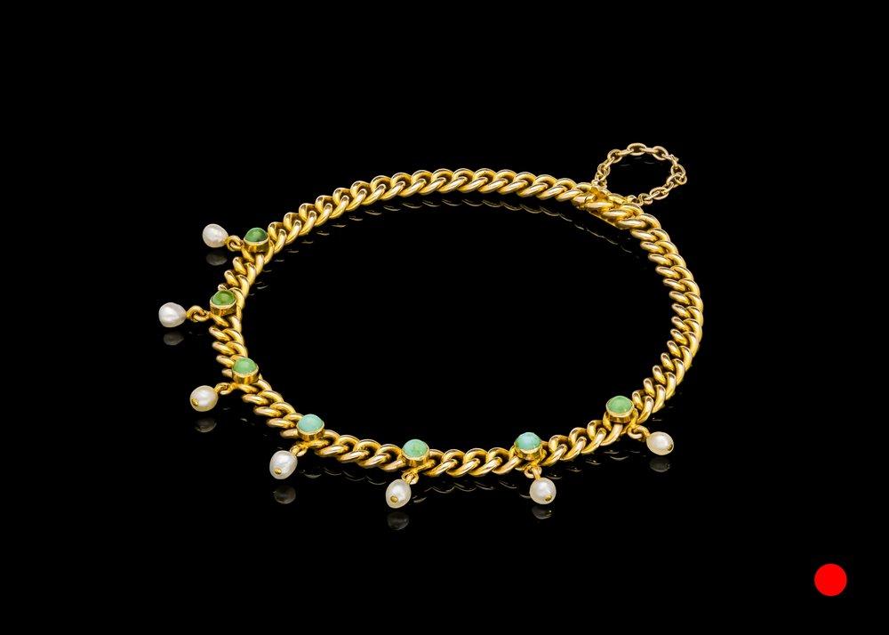 A Victorian gold link bracelet   £8600