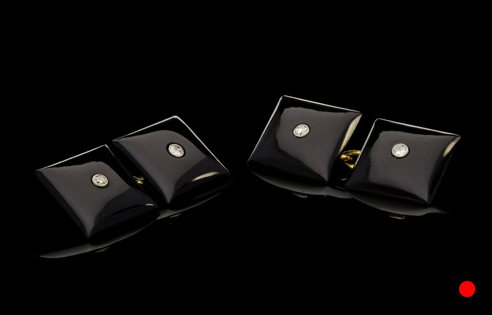 An Art Deco cufflinks | £1650