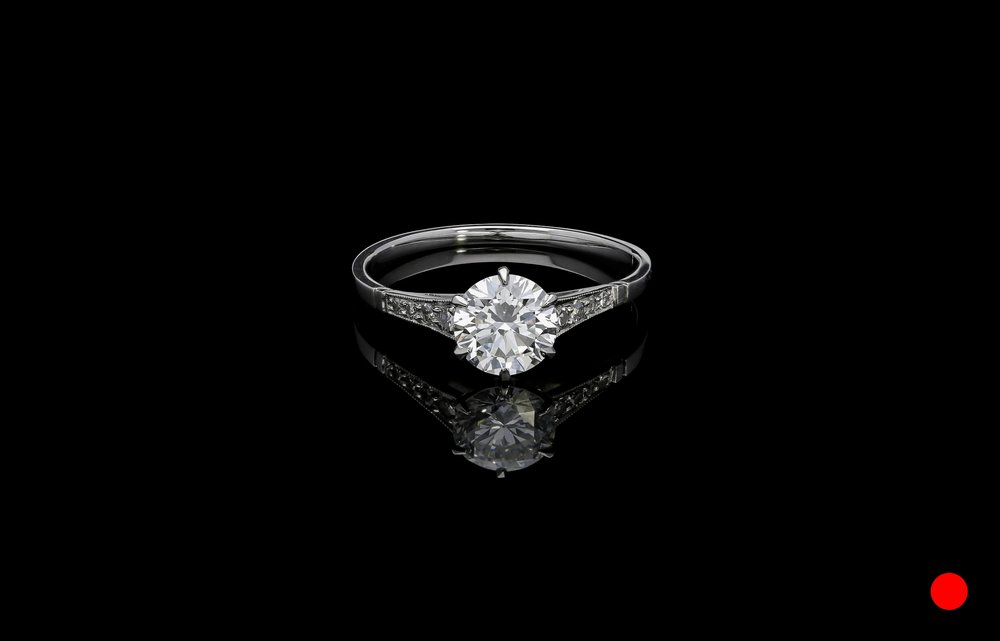 A 1950's brilliant engagement ring   £6350