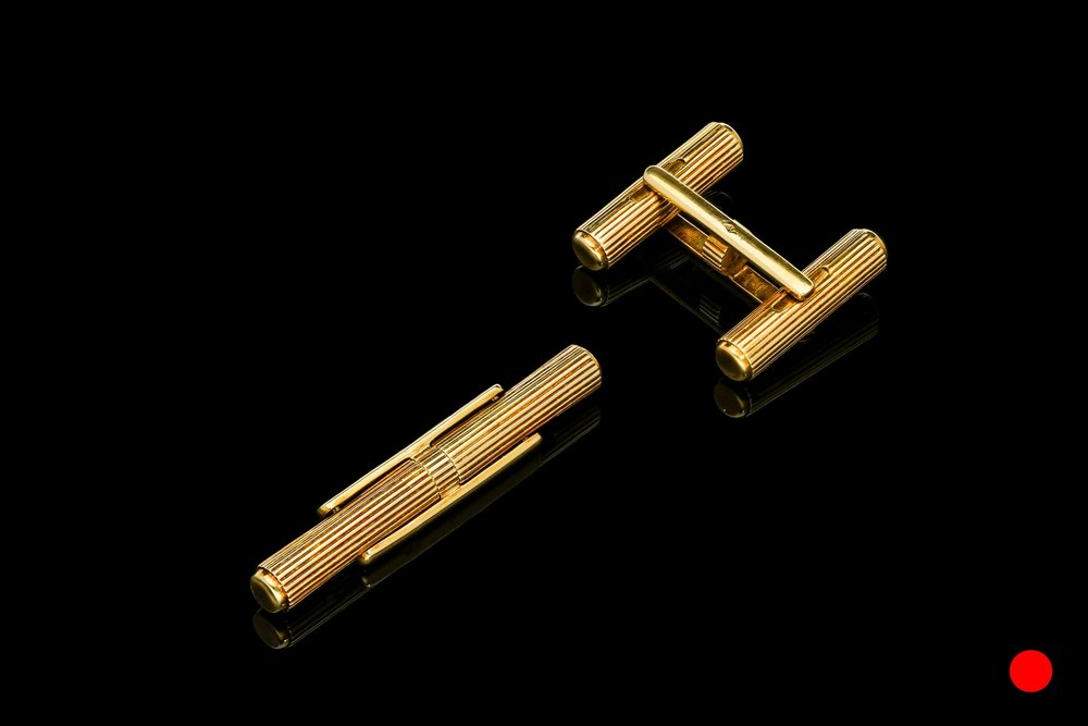 A French 1940's baton cufflinks | £2250