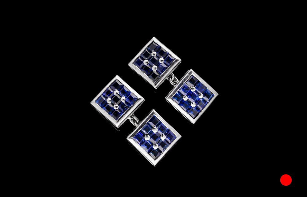 A 1950's Boucheron panel cufflinks | £3650