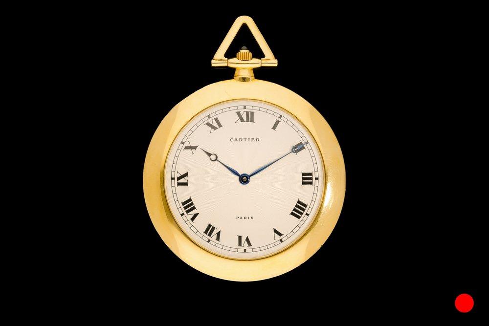 A 1940's Cartier manual wind watch | £6250
