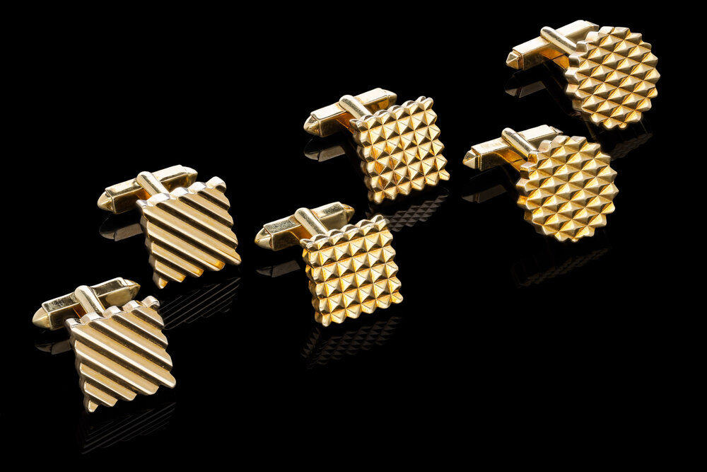 A Kutchinsky 18ct yellow gold cufflinks | £3950