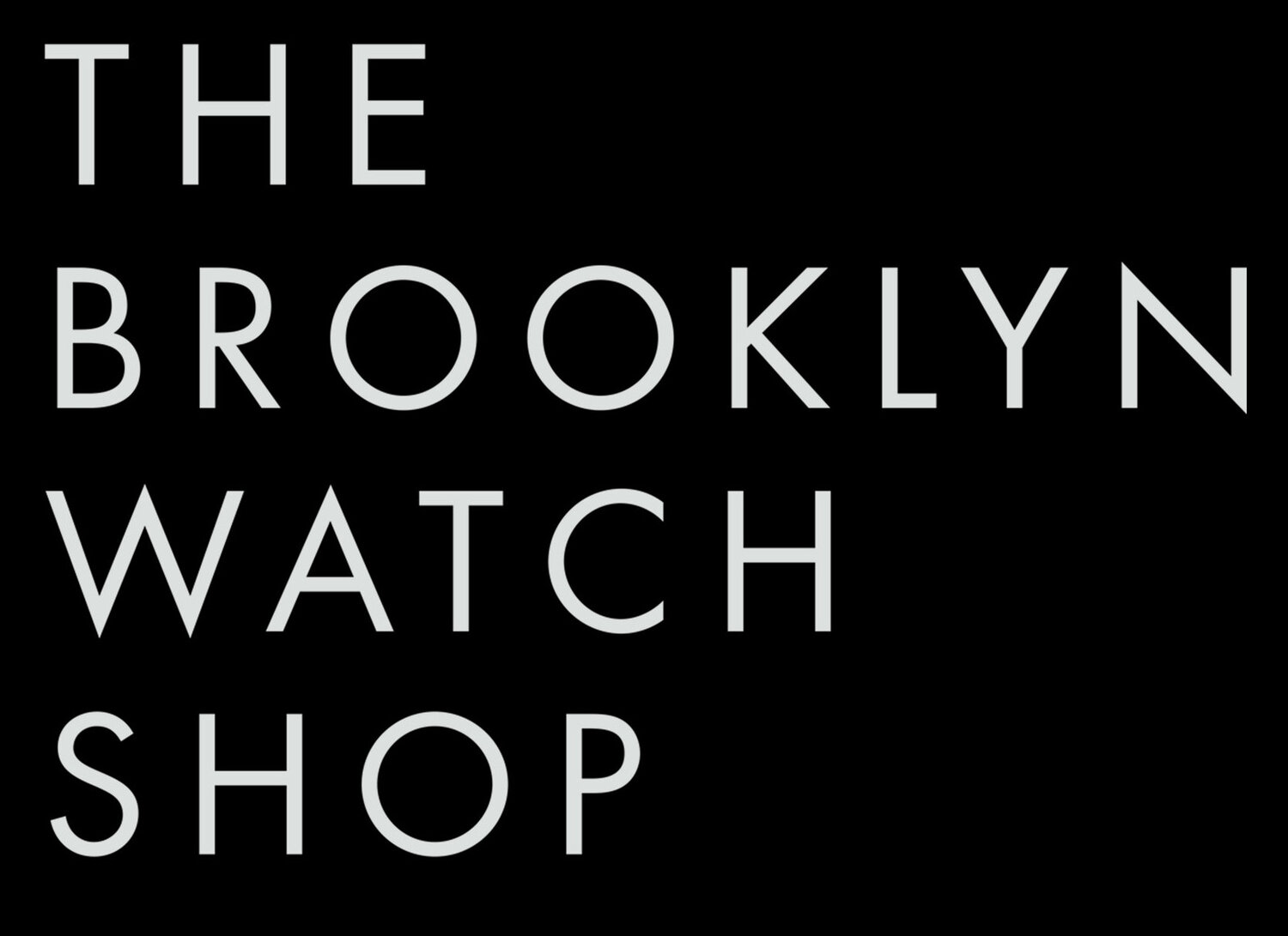 THE BROOKLYN WATCH SHOP