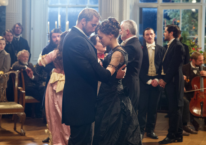 Gabriel Oak and Bathsheba Everdeen (Matthias Schoenaerts, Carey Mulligan), in Thomas Vinterberg's 2015 adaptation of Thomas Hardy's classic, Far From the Madding Crowd, published 1874. (Image courtesy IndieWire).