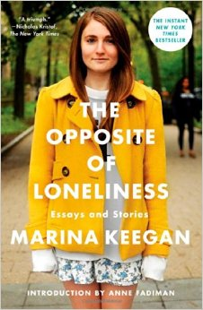She died in a car crash. And she'd just graduated Yale.  I ordered this book and am awaiting its arrival. I want to read it because I hope it will speak to many of the emotions and life changes I've had to deal with since graduating college. I hope it will speak to the doubts and uncertainties that I've judged in myself to be wrong, when really, they're probably just...normal.