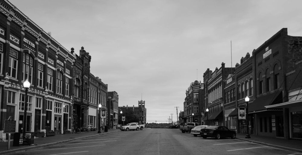 Guthrie, Oklahoma's first state capital.