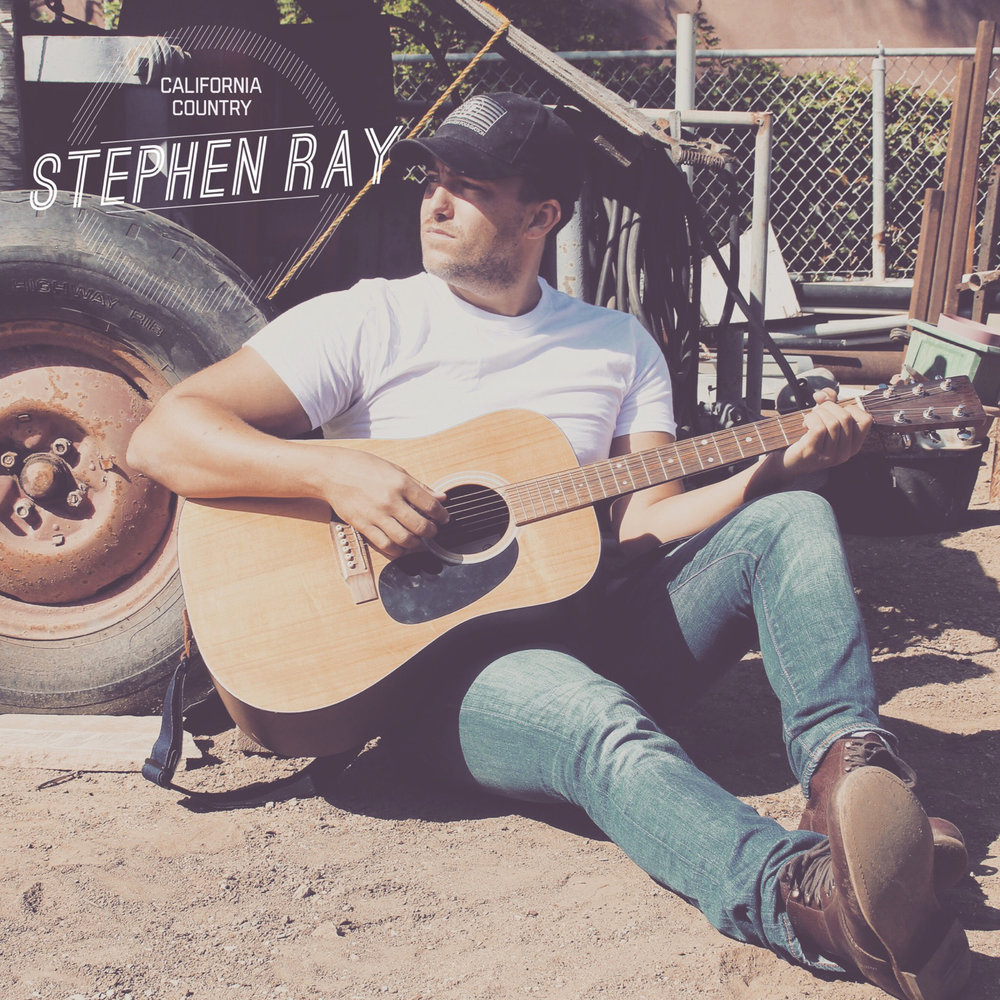 Stephen Ray California Country album cover.jpeg