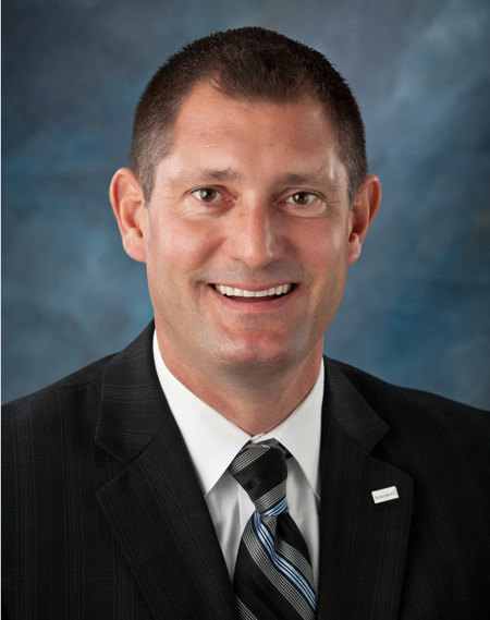 Mayor Bob Gallagher of Bettendorf, IA