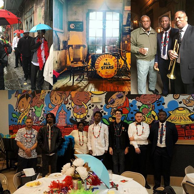 YEP EDUCATES: Today @yepnola hosted a graduation celebration & brunch to recognize a total of 23 YEP students who recently earned their HiSET (formerly GED). The jazz themed brunch was followed by a trip & private performance for YEP grads @preservationhall