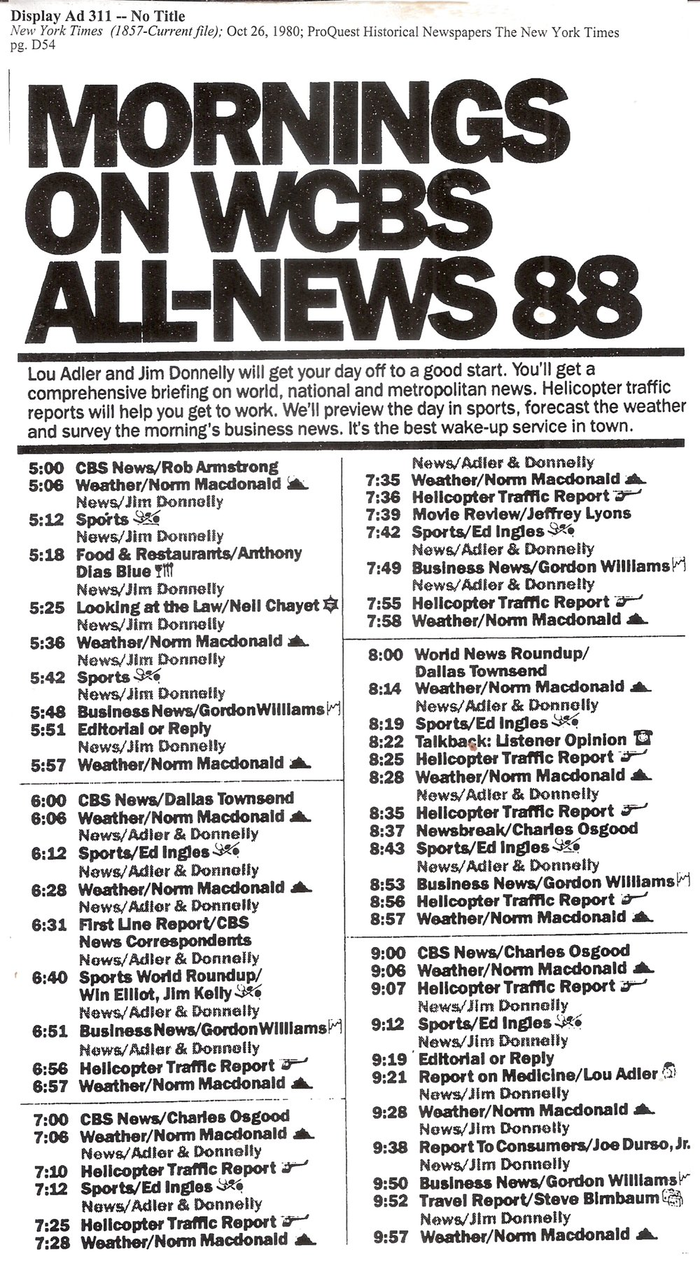 WCBS NewsRadio88 AM-Drive Sked0001.jpg