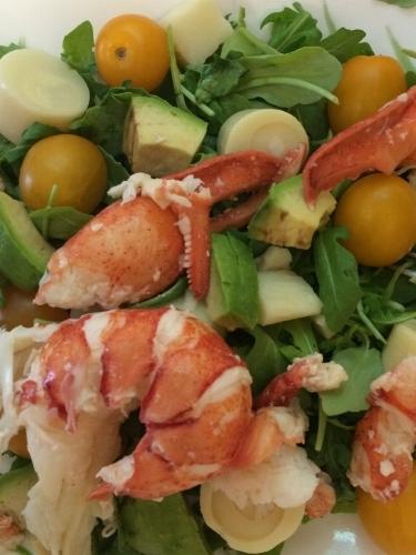 Arugula Lobster Salad