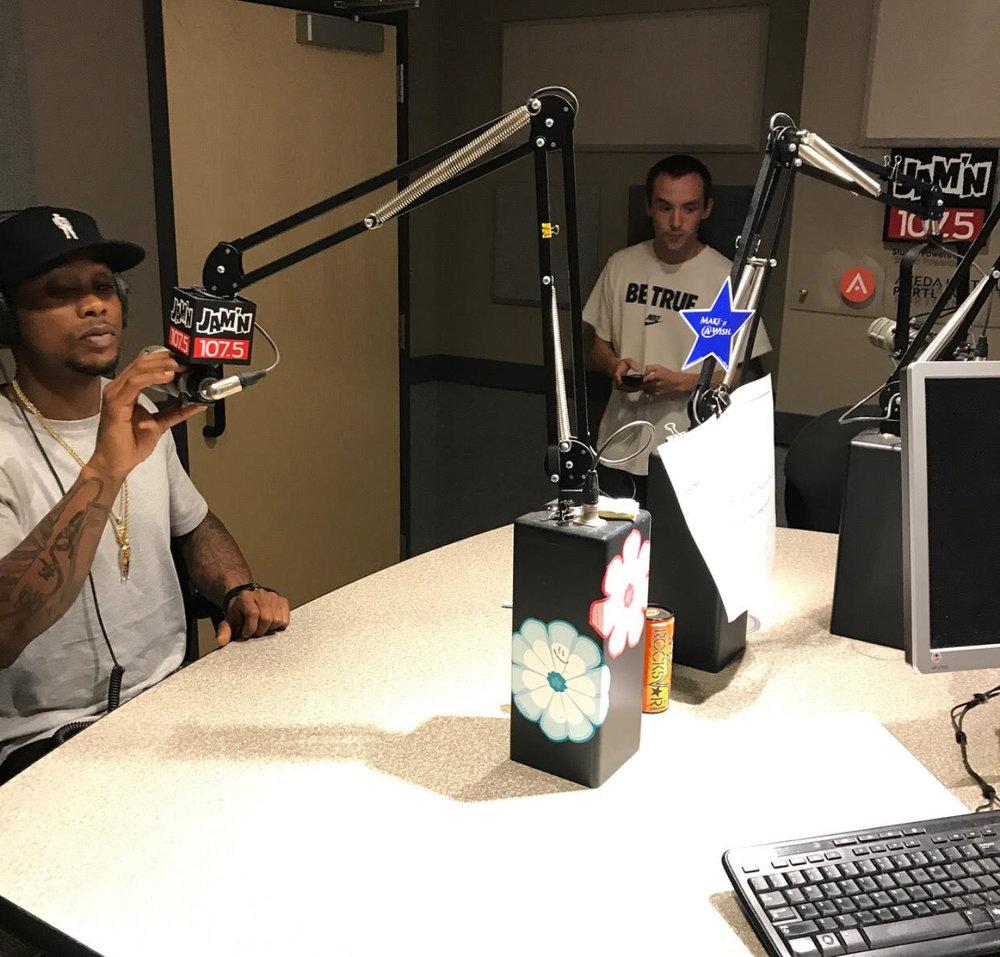 JAM'N 107.5 RADIO INTERVIEW