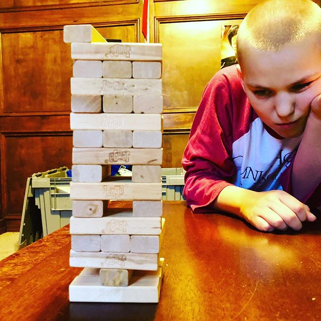 Monday night @jenga #jenga #mondaynight #t1dlookslikeme #curethis