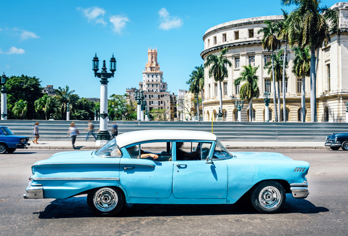 Cuba, my best friend's dream place to be. It won't be bad to get a feel of the ancient nature of the place before colonialism hits them. Image: ncl