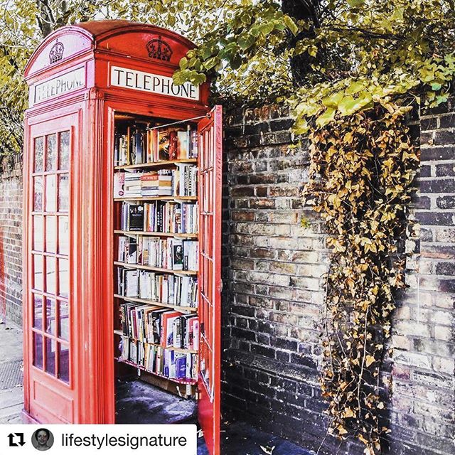 #Repost @lifestylesignature with @get_repost ・・・ Making The Best of Obsolete Technology #innovation #phoneboothlibrary #phonebooth #library #bookworm #bookexchange #greatidea #ideas #bookclub #london #portugal #lewisham #uk #reader repost from @culturetrip