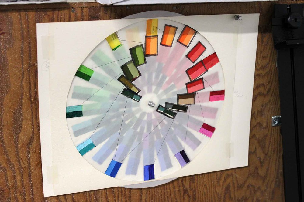 More color/paint theory. This mixing exercise was very eye opening, though I anticipated many of the results after the years of painting experience I already had.