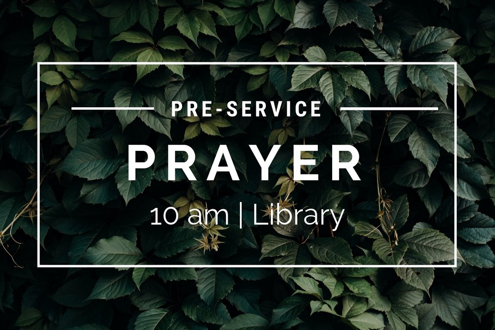 Pre-Service Prayer - Join us as we pray up LCLC and the Lincoln community Sunday mornings before service. We would love to have you!Time: 10am | Sunday MorningsLocation: Library