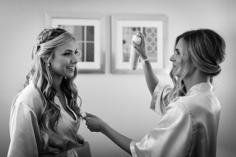 Bridesmaid Hair Getting Ready Pleasanton.jpg