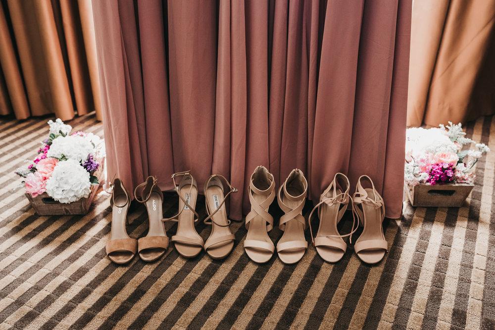 Bridesmaids Shoes Pleasanton Hotel
