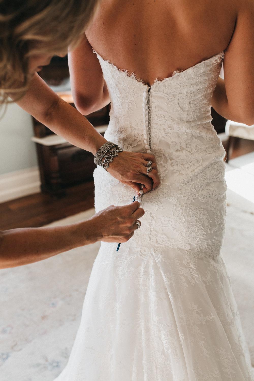Bride Wedding Dress Elliston Vineyards