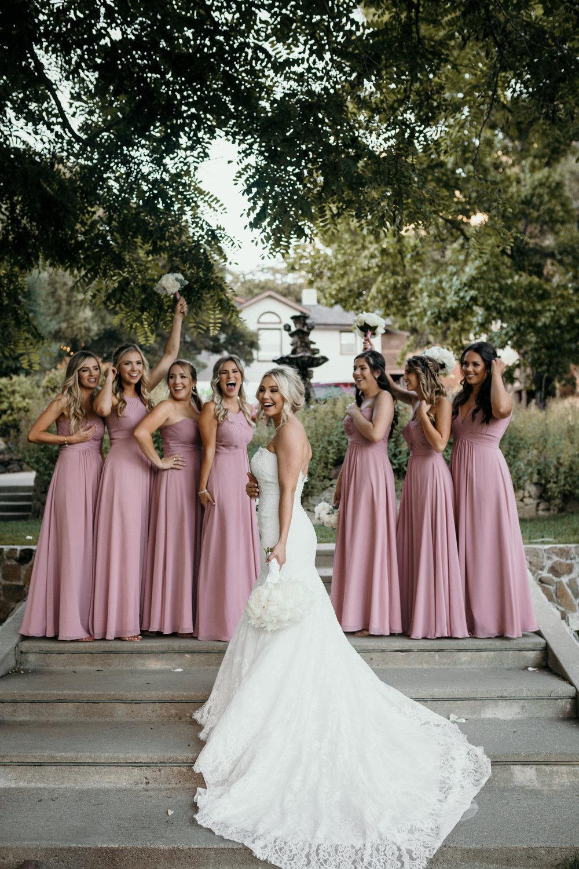 Bridesmaids Elliston Vineyard Sunol