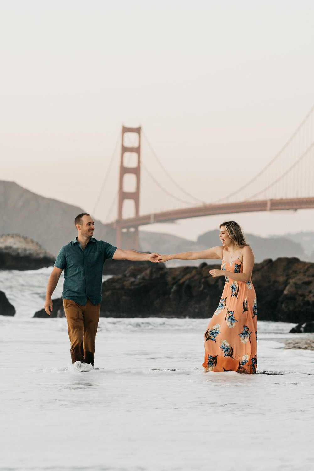 Baker Beach Engagement Shoot