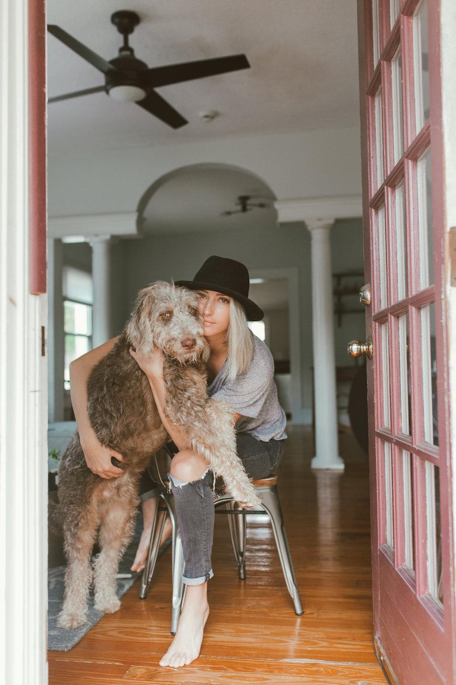 Girl With Dog Orlando