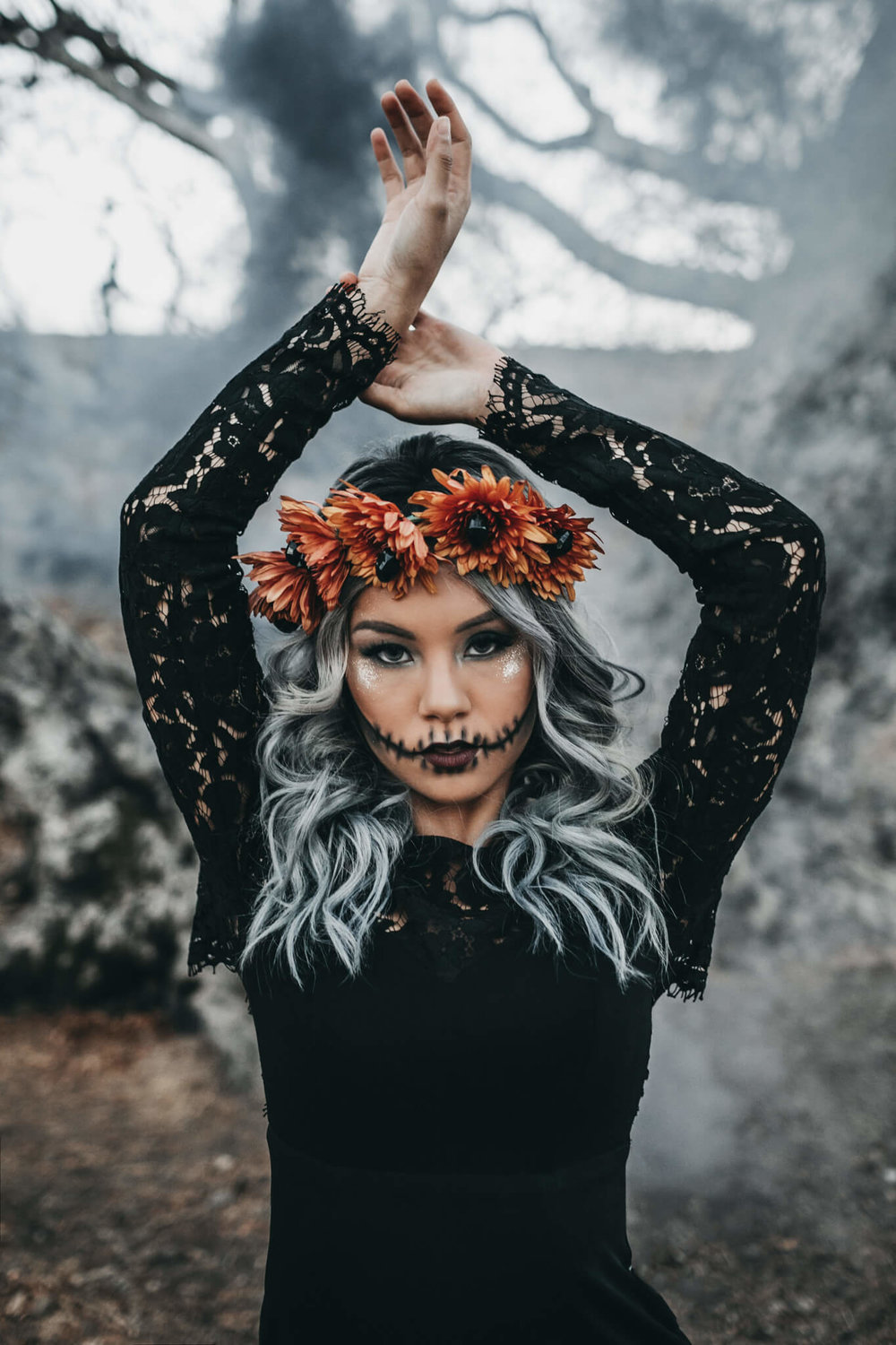 San Francisco Skull Halloween Shoot