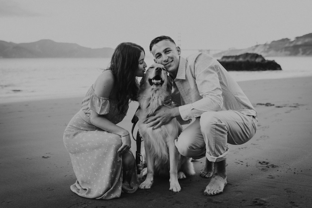 China Beach Engagement Session